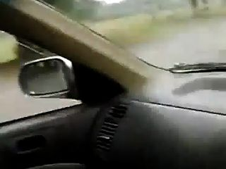 Pakistani Wife Boob Show N Press In Car Near The Park