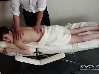 Milf Receives A Full Body Massage