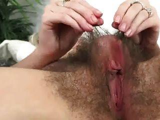 Aali Big Hairy Pussy
