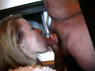 Wife Blowjob Fat Man