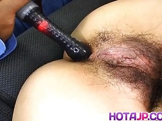 Yumi Takeda Has Hairy Crack Aroused Big Time And Fucked Like