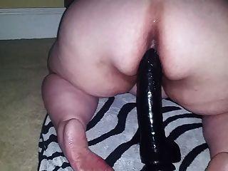 Fat Ass Plumper Fucking Monster Dildo