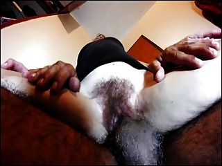 Hairy Amateur Wife Lapdance Quickie Peluda 2