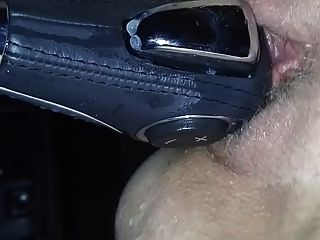 Riding The Gearshift And Squirting