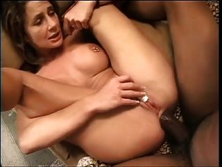 While Giant Cock Fucks Her Ass