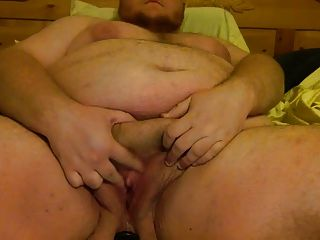 Fat Ftm Bear Dildos Both Holes
