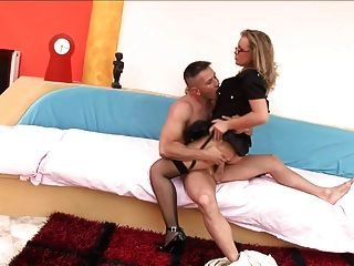 Csoky Has A Fat Cock For Colette