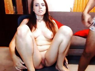 Whipping Linas Tits And Pussy