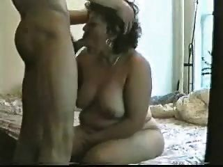 Latina Housewife Learns How To Suck  Cock Properly