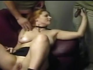 Girl Get Fucked By A Few Of Black Guys !