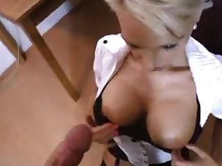 Sdruws2 -  German Secretary Offers Her Spread Ass To Fuck