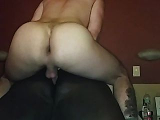 White Top Fucks Fat Black Ass