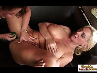 Two Extremely Kinky Moms Enjoying Each Other