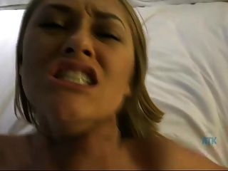 Kandace Kayne Gets Cum On Her Face And In Her Vag