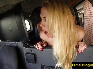 Deepthroating English Milf Cabbie Fucked Hard