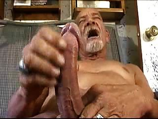 Big Cock Old Man (no Cum)
