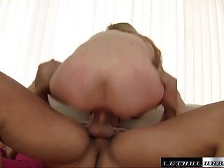 Tiny Teen Angel Gets Fucked By Huge Cock And Gushes All Over