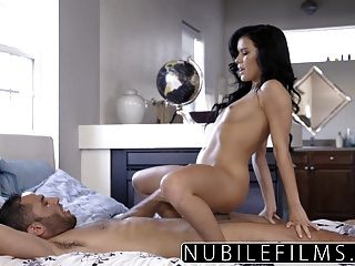 Nubilefilms - Sensual & Intense Cock Ride With Megan Rain