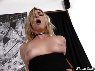 Beautiful Dahlia Takes Monster Black Cock In All Holes