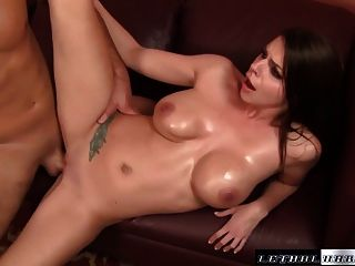 Big Tit Brooklyn Chase Fucked Cum On Tits