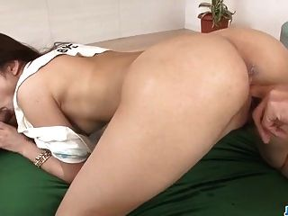 Megumi Shino Feels Needy To Place A Big Cock In Her Twat