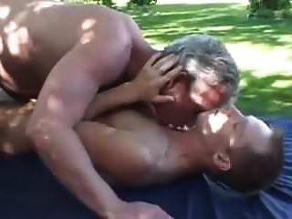 Grey Dad And Son