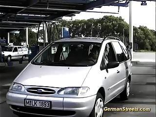 Busty Milf Picked Up For Backseat Anal