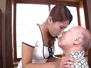 Beautiful Wife Serve Father In Law