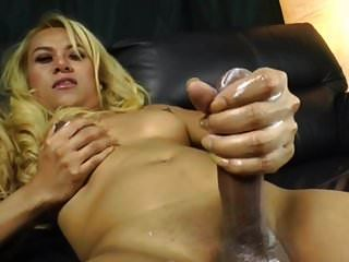 Sexy Lady Boy With Big Cock Cumming By Bronsonnn