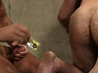 Hot Hairy Hunks: Fucking And Cum Eating
