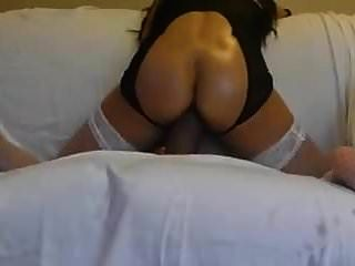 Woman Stuffs Her Juicy Pussy With Big Brown Dildo