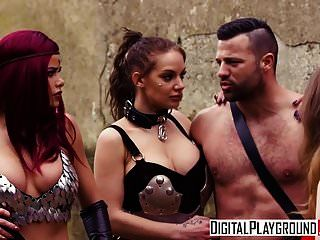 Digitalplayground - Red Maiden A Dp Parody With Jessa Rhodes
