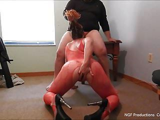Nasty Rebel On Her Knees For Daddy
