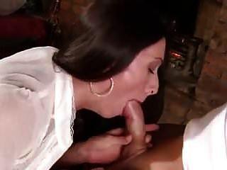 Sexy Brit Milf Gets Spunked