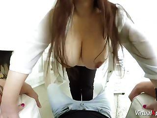 Busty Pregnant Bbw Babe Pov Fucked