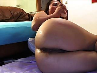 Delicious Latina Big Ass Anal Play