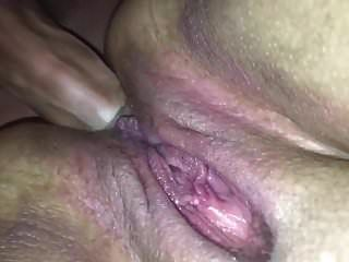 Closeup Of A Fat Amateur Freaky Bbw Taking It Up The Ass