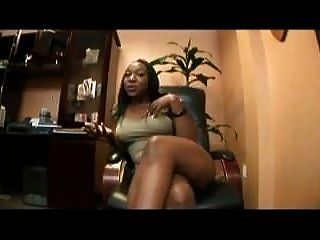 Ebony Fucked In The Office (not Mine)