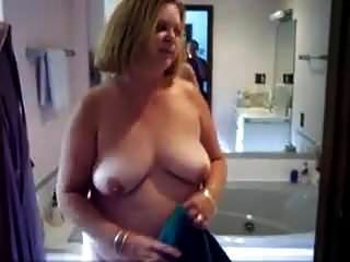 Wife Getting Ready To Shower.mp4