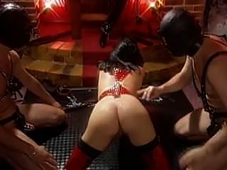 Mistress Gabrielle Scream With Her Female And Male Slaves