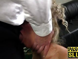 Blonde Nova Shields Gets Pascals Hard Cock In Her Asshole