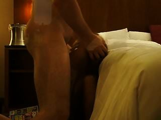 Wife In Hotel Getting Throat Fucked Takes Facial