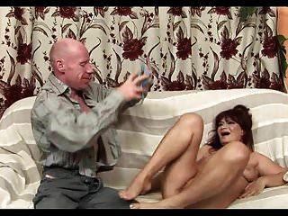 Redhead Granny Rough Anal Sex