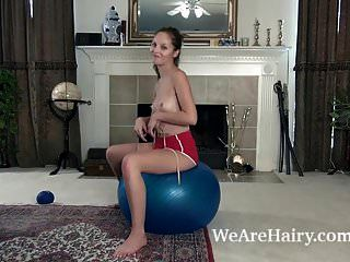 Penelope Jones Enjoys Sexy Yoga Today