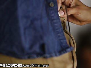 Maya Moreno Caught Janitor Sniffing Her Panties