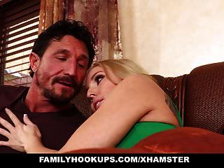 Familyhookups - Busty Blonde Getting Fucked Hard