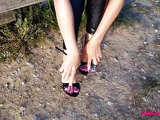 Playing With My Heels
