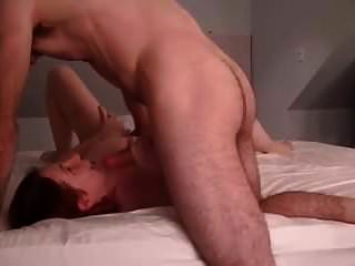 Wife Red Head Double Creampie