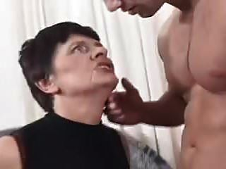 Hairy Mature Nympho Granny Has Cock Fever
