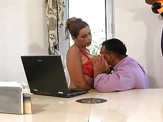 Terry Nova - Massive Saggy Boobs Anal In Black Stockings